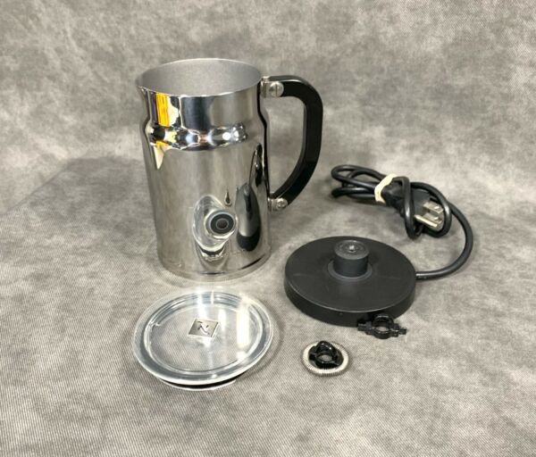 Nespresso Milk Frother Model 3192 Aeroccino Automatic Stainless Steel Complete