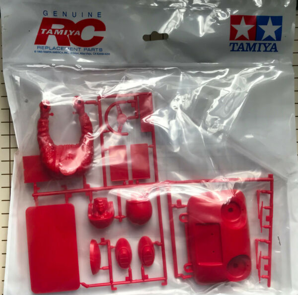 Tamiya P Parts Tree for Monster Beetle 2015 in RED with Driver Figure # 9115431