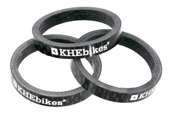 KHE Carbon BMX Spacer 1 1 8 quot; Inches 1 1 8x0 3 16in For Tax Only 0.0917oz 3 Of $8.03