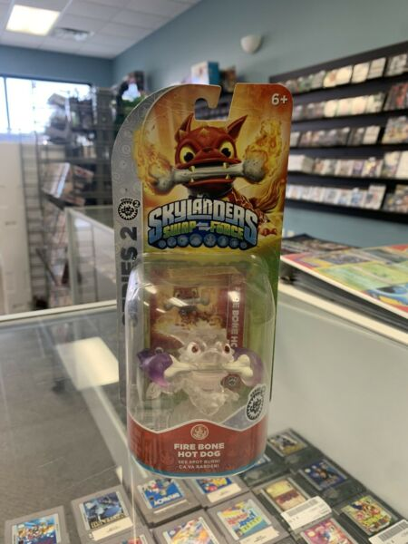 Clear Fire Bone Hot Dog PURPLE Skylanders Swap Force EXTREMELY RARE VARIANT $300.00