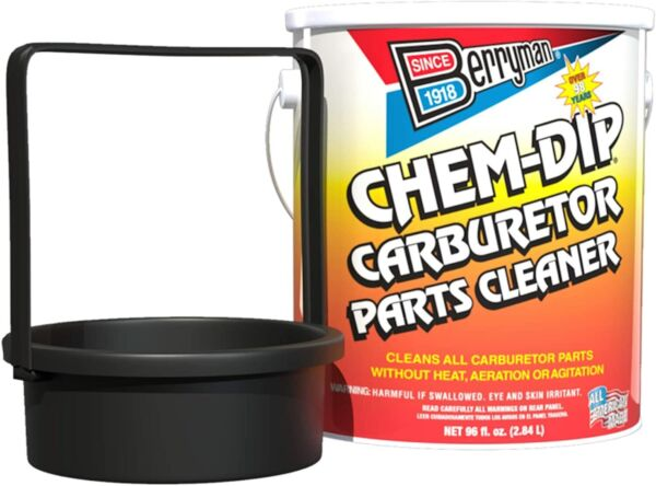 Berryman New 0996 Chem Dip Carburetor and Parts Cleaner 96 oz. Can with Basket $27.98