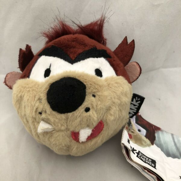 Bark Box Super Chewer Rubber Dog Fetch Treat Toy Tearable Taz Space Jam Rare $24.35
