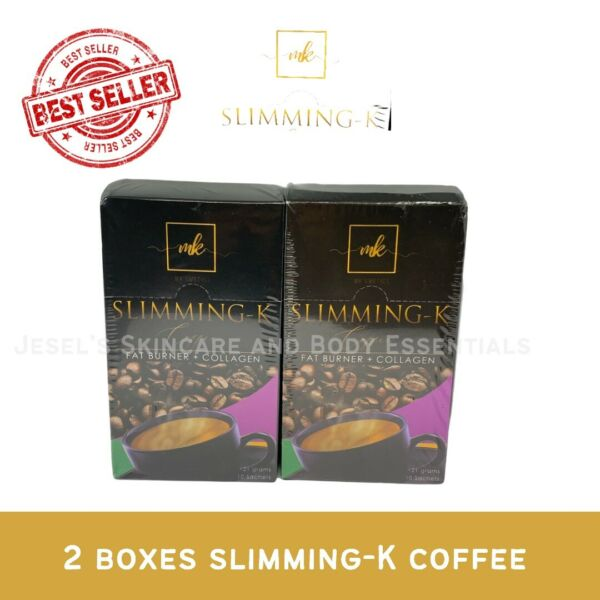 2 BOXES SLIMMING K Coffee Mix By Madam Kilay With Collagen 10 Sachets Per Box