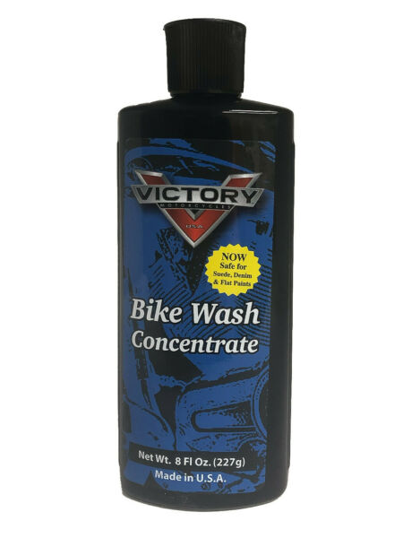Victory Motorcycles Bike Wash Motorcycle Cleaner Concentrate *SUEDE DENIM SAFE * $13.95