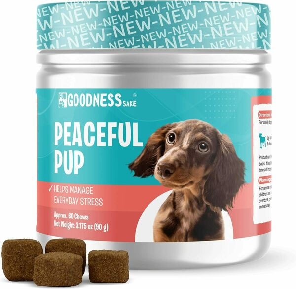 Dog Calming Chews Anxiety Relief Treats to Help Dog Separation Anxiety $8.98