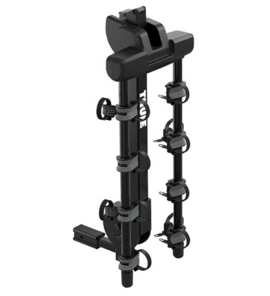 Thule Hitch Mounted 4 Bike Camber Bicycle Carrier in Black $265.00
