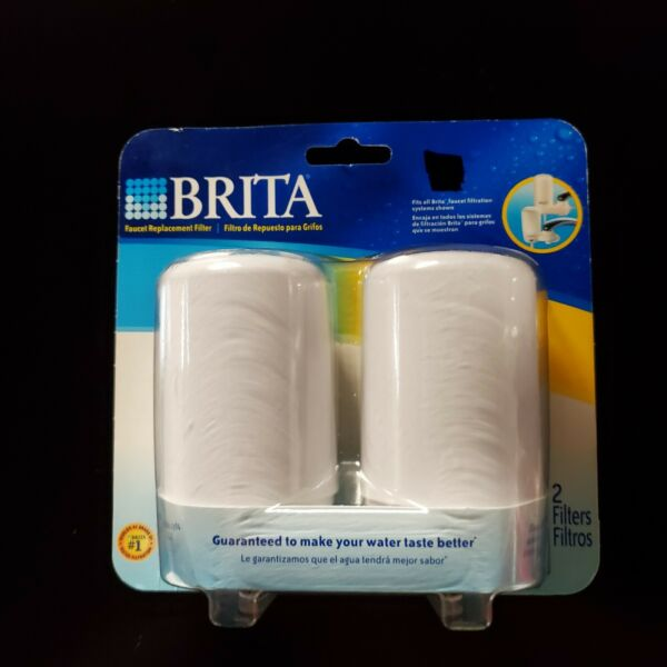 Brita Faucet Replacement Water Filter 2 Pack Models: FF 100 amp; OPFF 100 New