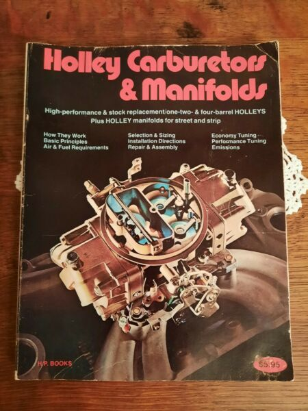 Holley Carburetors and Manifolds Manual by HP Books Mike Urich amp; Bill Fisher $10.88