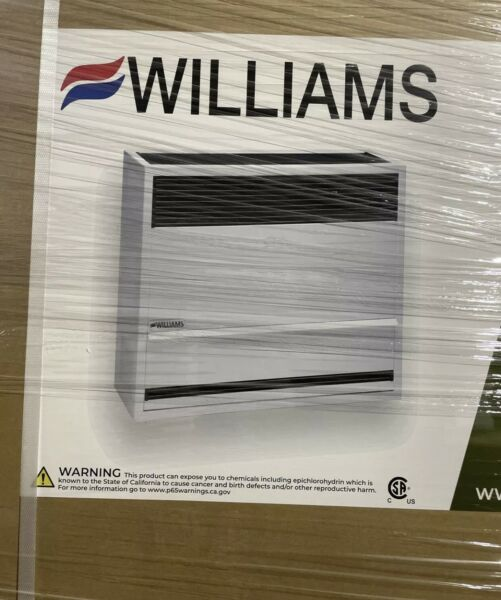 Williams 2203822 16462 BTU Natural Gas Direct Vent Central Furnace Gray $260.00