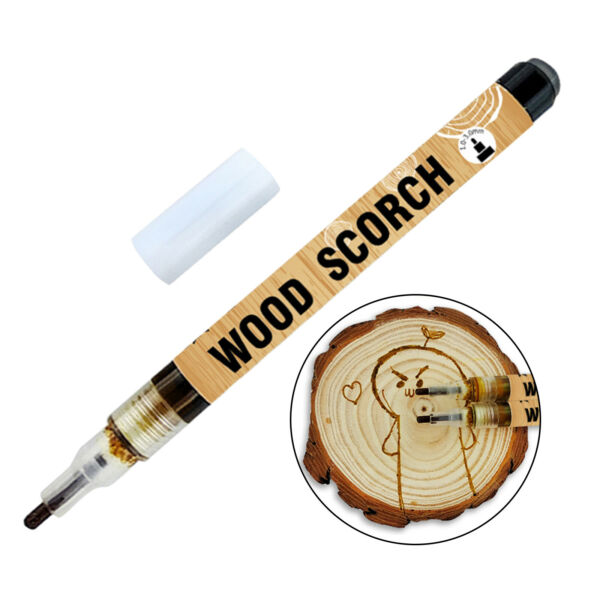 Pyrography Scorch Marker Wood Firing Pen Woodworking Iron Tool