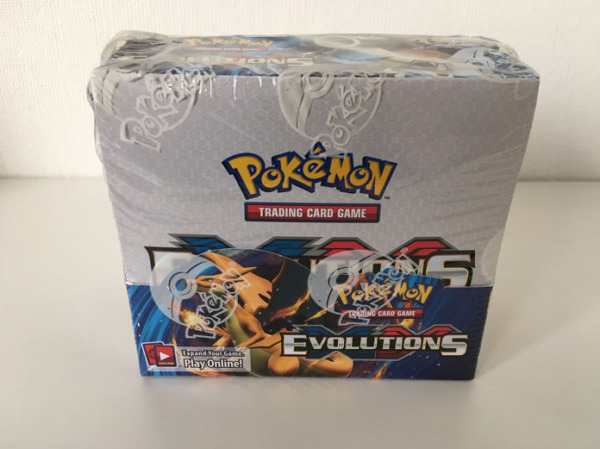 Pokemon TCG: XY Evolutions Sealed Booster Box Pack of 36