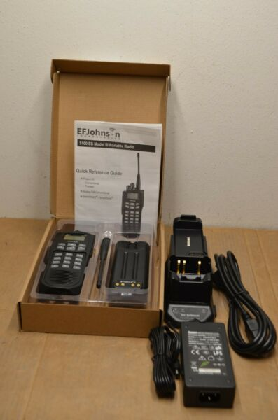 EF Johnson 5100 ES UHF 380 470 MHz V 6.16.18 5100 CHARGER KIT W SWITCHING PS
