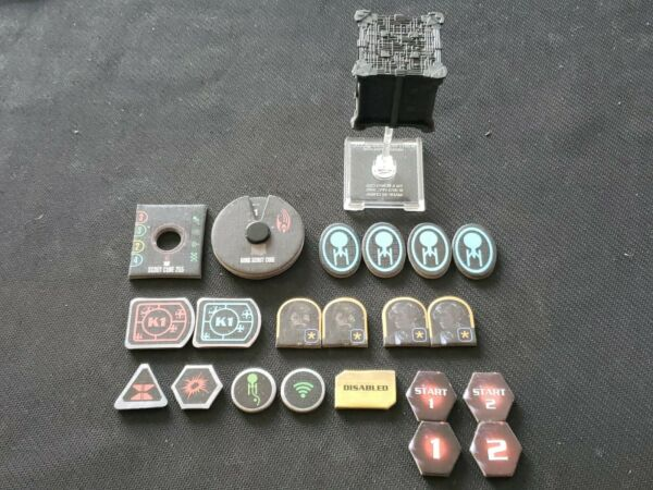 Star Trek Attack Wing WizKids Borg Scout Cube 255 used