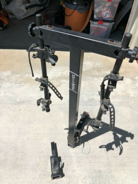 Hollywood 3 bike hitch mounted bike rack quick install hitch 2quot; adapter $75.00
