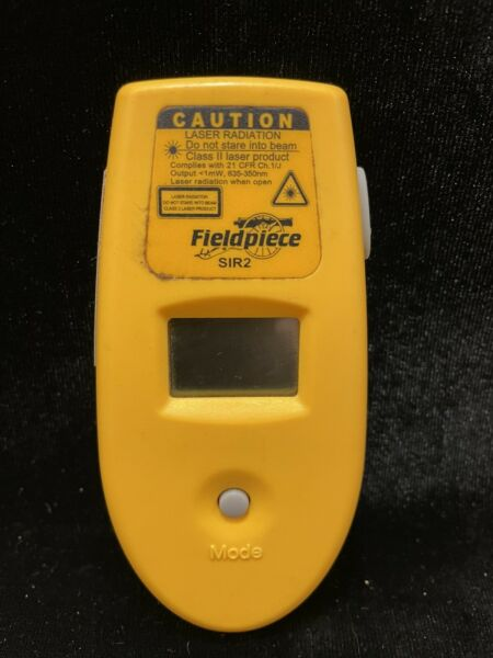Fieldpiece SIR2 Infrared Thermometer with Laser Sight 6:1 FoV