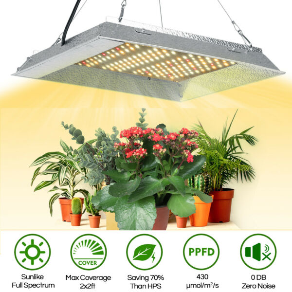 Full Spectrum LED Grow Light 600W Sunlike Indoor for Greenhouse Hydroponic $23.81