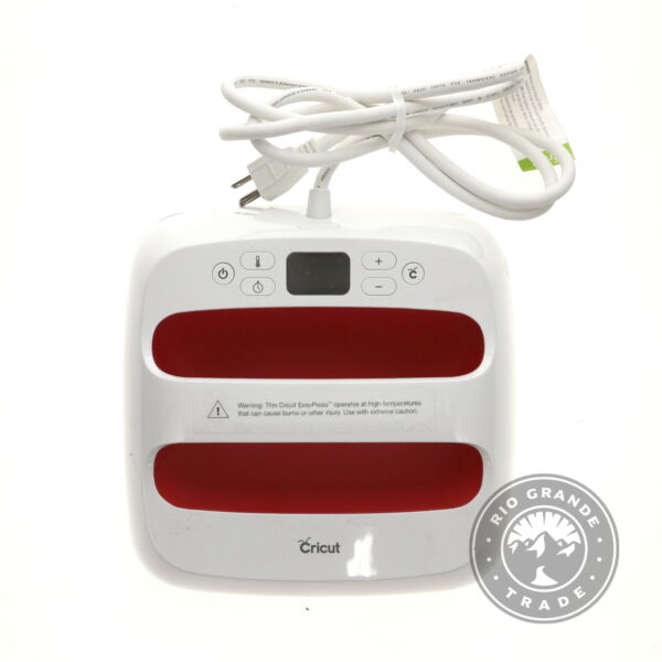 USED Cricut EasyPress 2 Heat Press Machine for T Shirts in Raspberry 9quot; x 9quot; $79.50