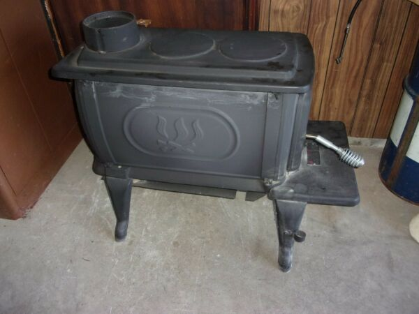 wood stove for garage excellent small stove $300.00
