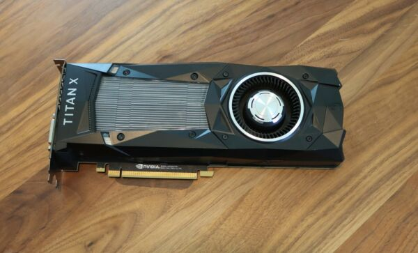 nVidia Titan X Pascal Graphics Card in Excellent Condition