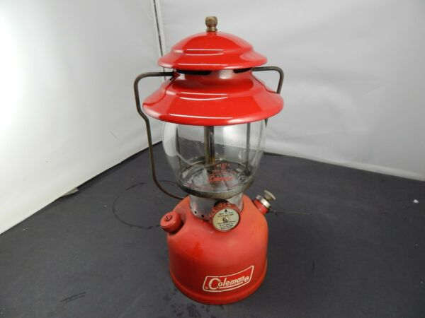 1971 COLEMAN Model 200A GAS Camping LANTERN 11 71 RED $199.00