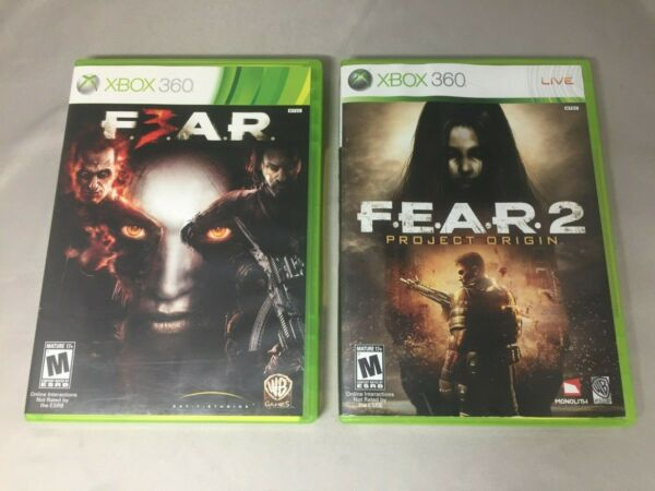 FEAR 2 amp; 3 FOR XBOX 360 $39.95