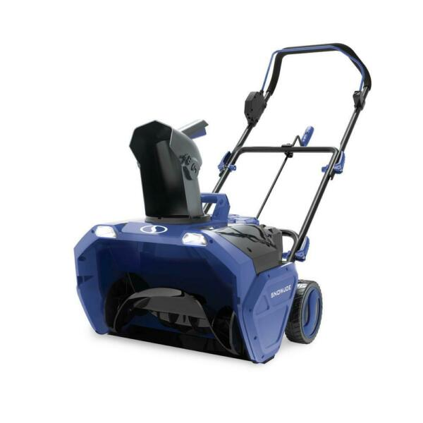 Snow Joe Snow Blower Ice Thrower 20 in. 48 Volt Cordless Electric Tool Only