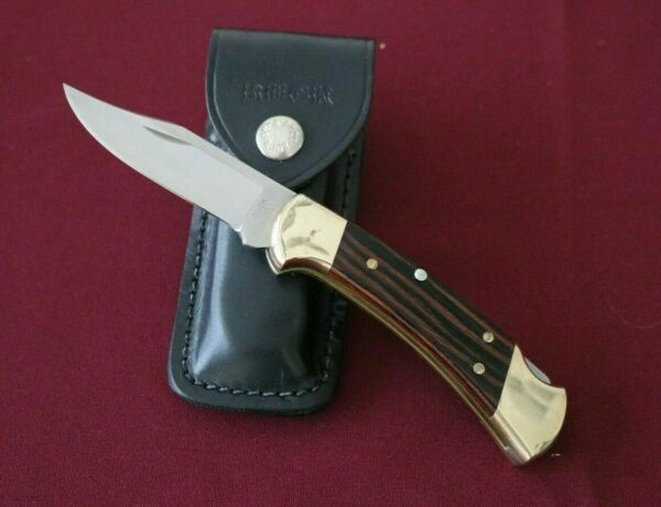 Buck Knives Model 112 Ranger Knife With Sheath From 1993 Used