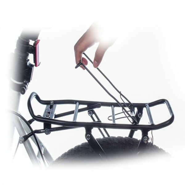 Bicycle Mountain Bike Rear Rack Seat Post Mount Pannier Luggage Carrier US 2021 $22.31