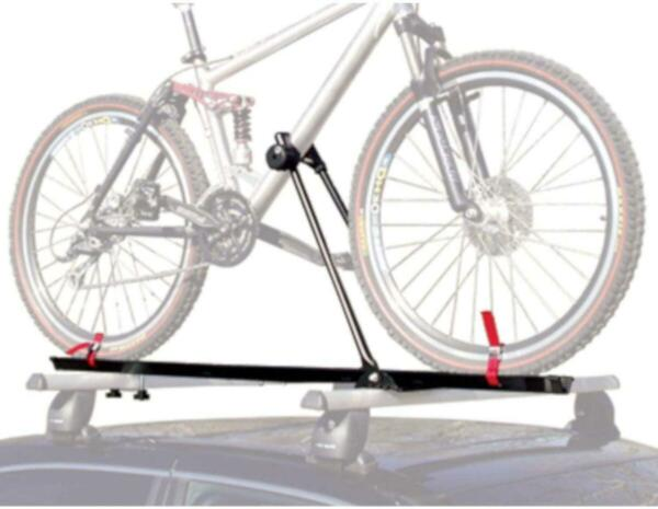 Bike Rack for Car Roof Upright Single Bicycle Carrier Trailer Lockable UNIVERSAL $50.49