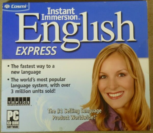 Software PC Instant Immersion English Express NEW SEALED $8.95