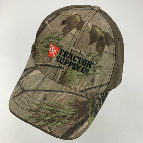 Tractor Supply Co Camouflage Ball Cap Hat Adjustable Baseball $11.19