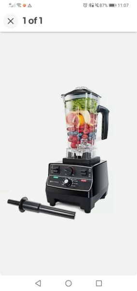 BATEERUN Professional Blender for Shakes and Smoothies Countertop Blenders