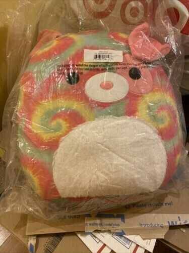 """Shena Dog 20"""" Squishmallow Tie Dye Brand New In Packaging $48.00"""