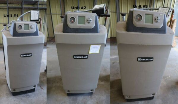 Weil McLain Ultra 310 Natural Gas BoilerSeries 3 Lot of 3 Units $1770.00