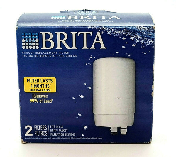 Brita Faucet Replacement Water Filters for Tap Mounts