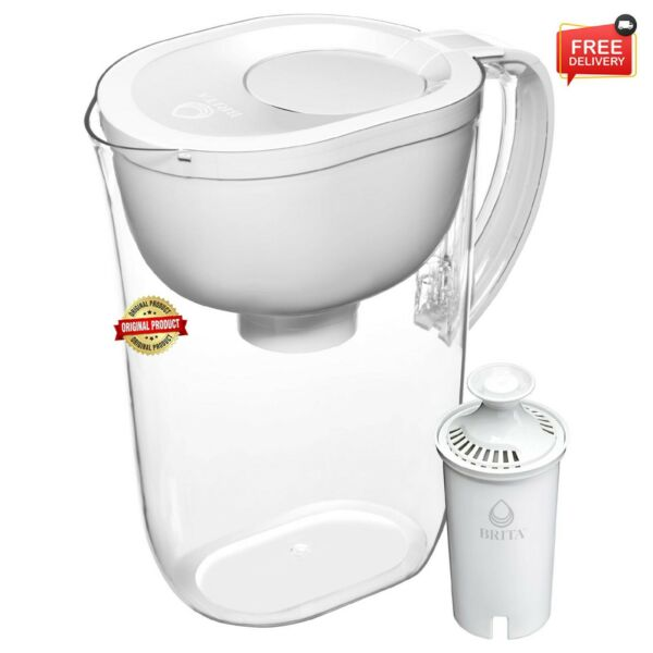 Brita Everyday Water Filter Pitcher with Filter Large 10 Cup White Free Shipping