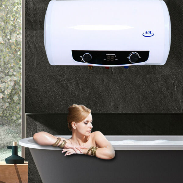 2KW 50L Electric Tank Hot Water Heater Boiler Bathroom Shower Home Use 30 75 ℃ $141.00