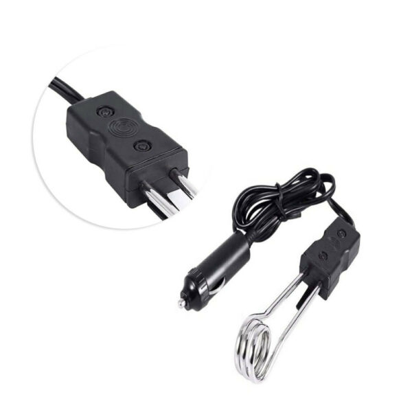 CAR PORTABLE ELECTRIC IMMERSION HEATER ELEMENT12V HOT WATER BOILER TUB $7.19