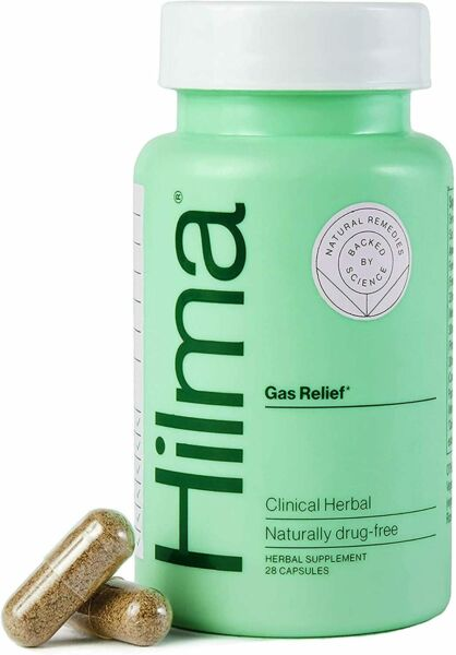 Hilma Natural Gas amp; Bloat Relief Clinically Proven Peppermint Leaf Fennel $5.99