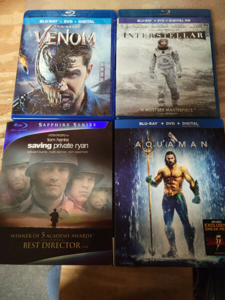 Blu Ray Movie Lot You Pick $5 EACH AND ONLY $3 SHIPPING TOTAL $5.00