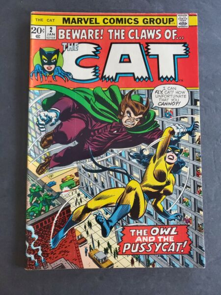 BEWARE THE CLAWS OF THE CAT #2 ORIGINAL 1973 MARVEL COMICS ISSUE #2 COMIC BOOK $27.99
