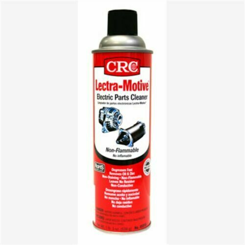 CRC 05018 Lectra Motive Electric Parts Cleaner 19 Oz. Can 05018 $15.95