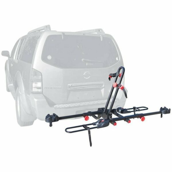 2 Bike Hitch Rack Mount Carrier Trailer Car Truck SUV Receiver Bicycle Transport $181.58