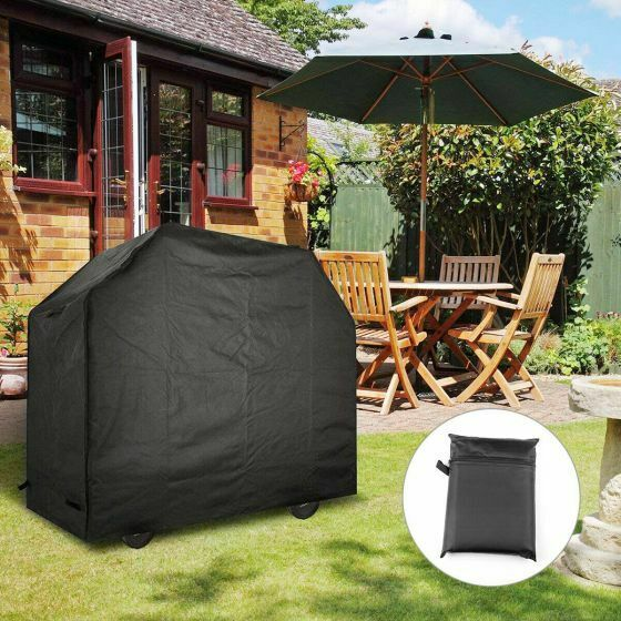 Waterproof BBQ Cover Heavy Duty Rain Gas Barbeque Smoker Grill Protector in Home