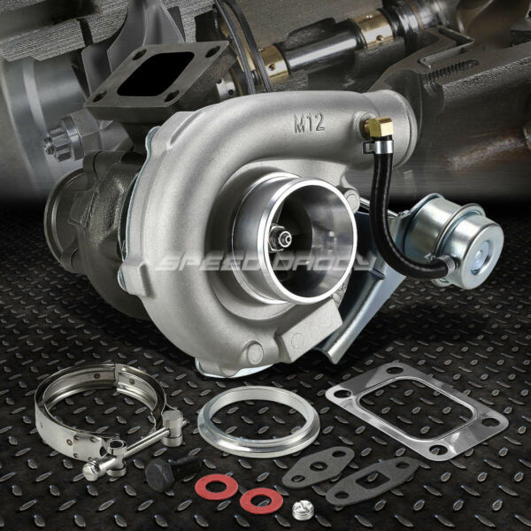 T04E T3/T4 .63 TURBO TURBOCHARGER COMPRESSOR 300+HP W/ INTERNAL WASTEGATE V-BAND