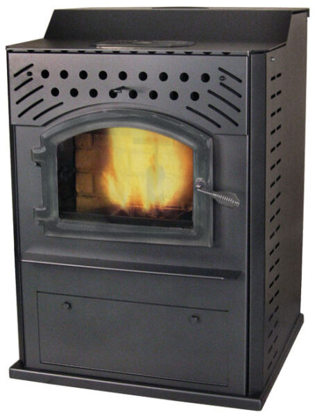 American Energy Systems Magnum Winchester Corn  Wood Pellet  Flexfuel Stove
