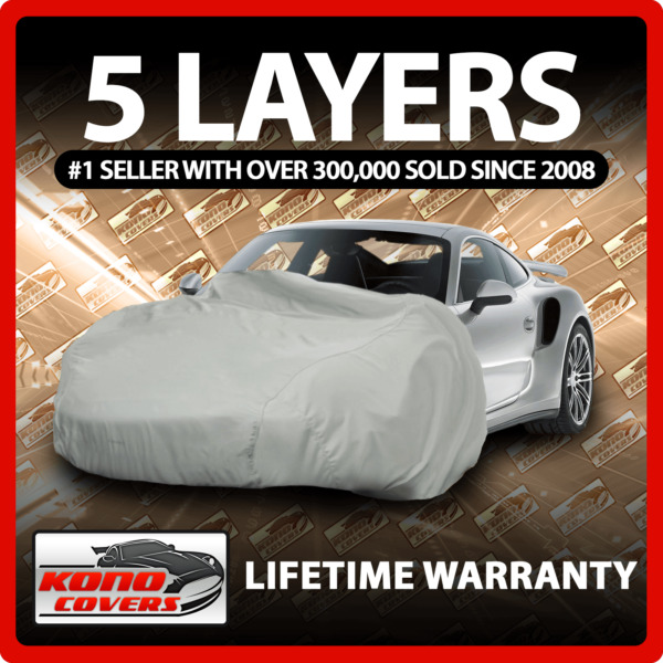 Fits Toyota Sequoia 5 Layer Car Cover Fitted Outdoor Water Proof Rain Snow Sun
