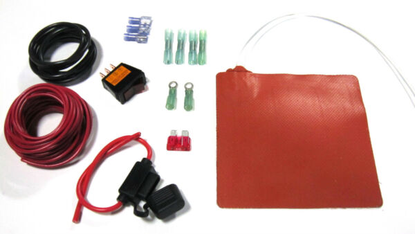 Fuel Filter Heater Complete Kit WWiring Diesel WVO Waste Oil Fuel Heater