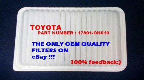 Engine Air Filter For 02 06 Toyota Camry Lexus Sienna OEM Quality Perfect Fit $8.50