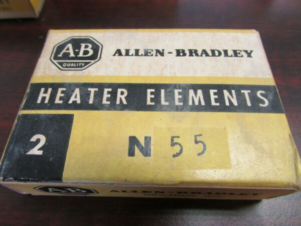 ALLEN BRADLEY N55 Heater Overload Relay Thermal Element per box of 2 $10.00